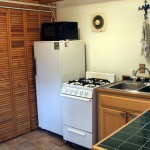 2nd view of kitchen showing utility closet