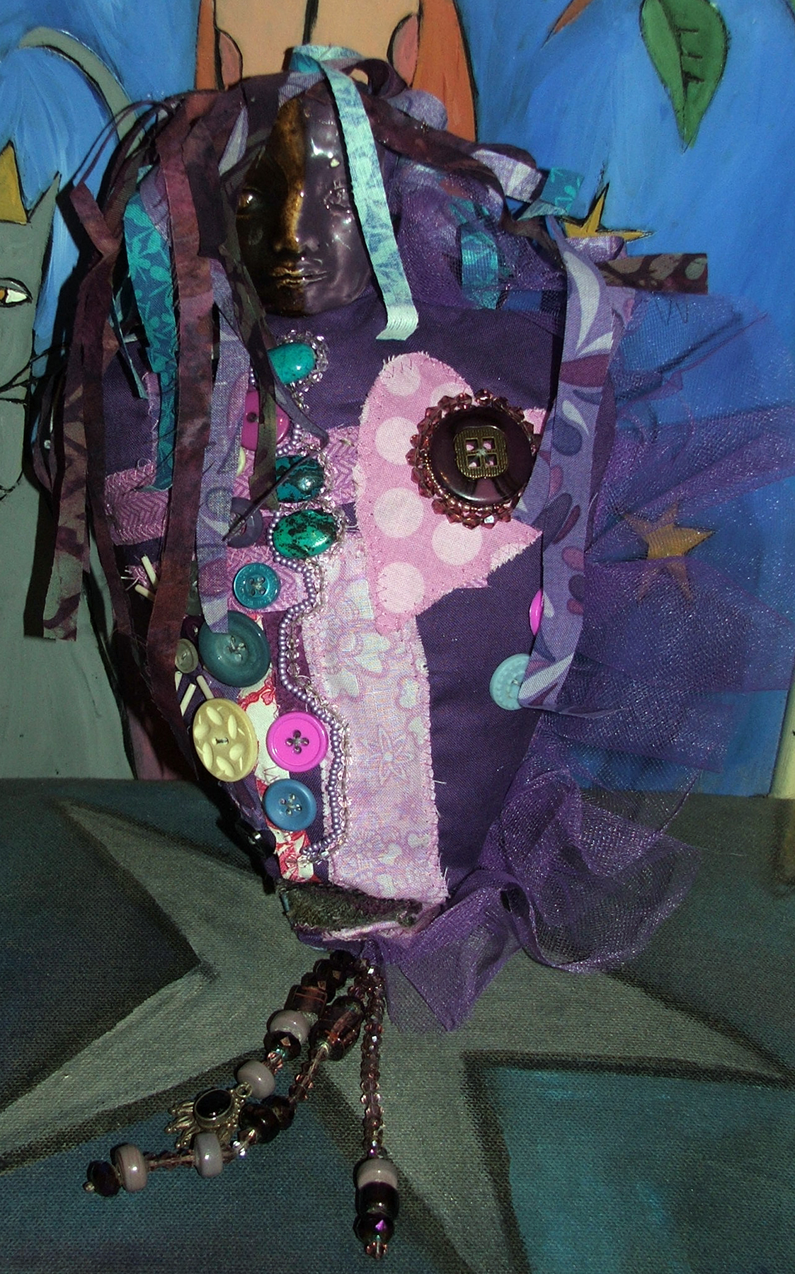 Spirit Doll, Art Every Day Month, Day 2, 2012