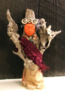picture of a totem doll