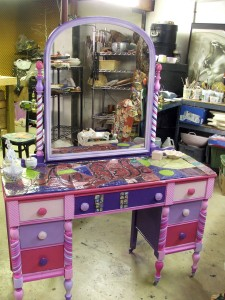 Vanity for granddaughter - finished.
