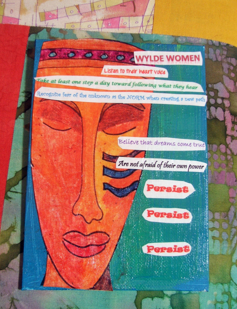 Wylde Women: art and prose by Tammy Vitale for AEDM Day 3