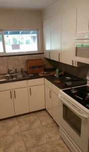 Rehabbed kitchen in one of my Florida rentals.