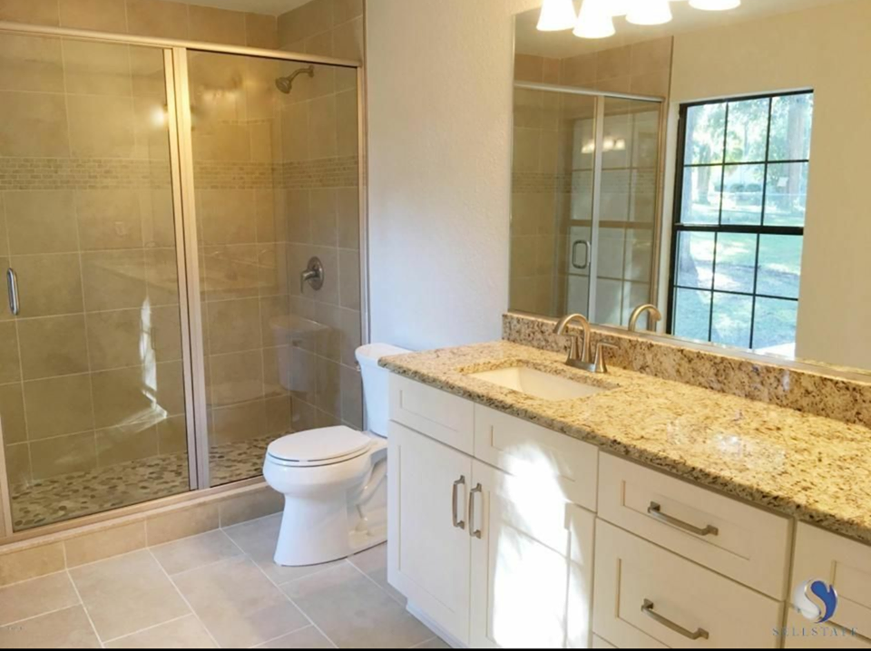 Tammy Vitale Real Estate Investing: Flip 4 Bath Before and After