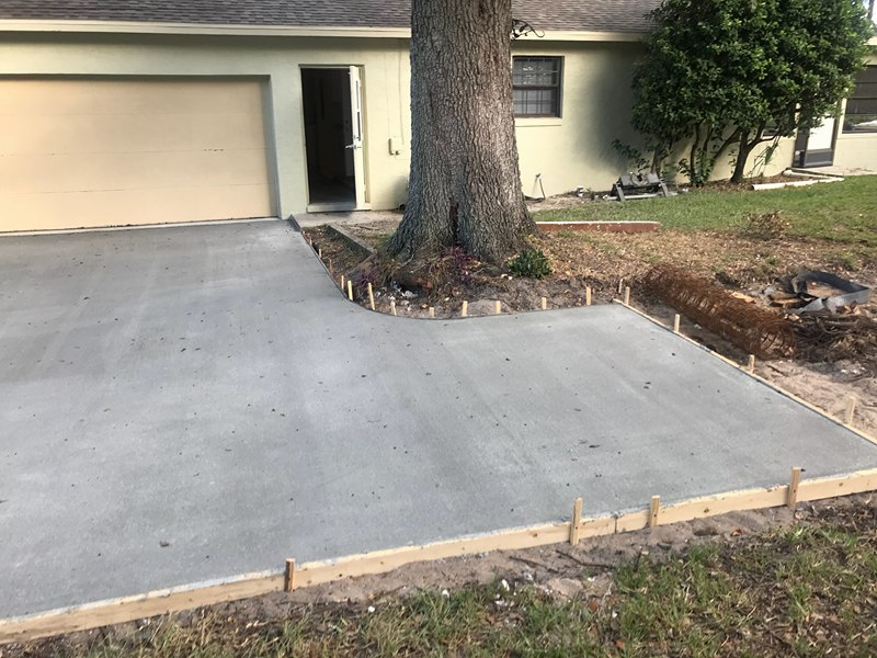 jay - driveway after