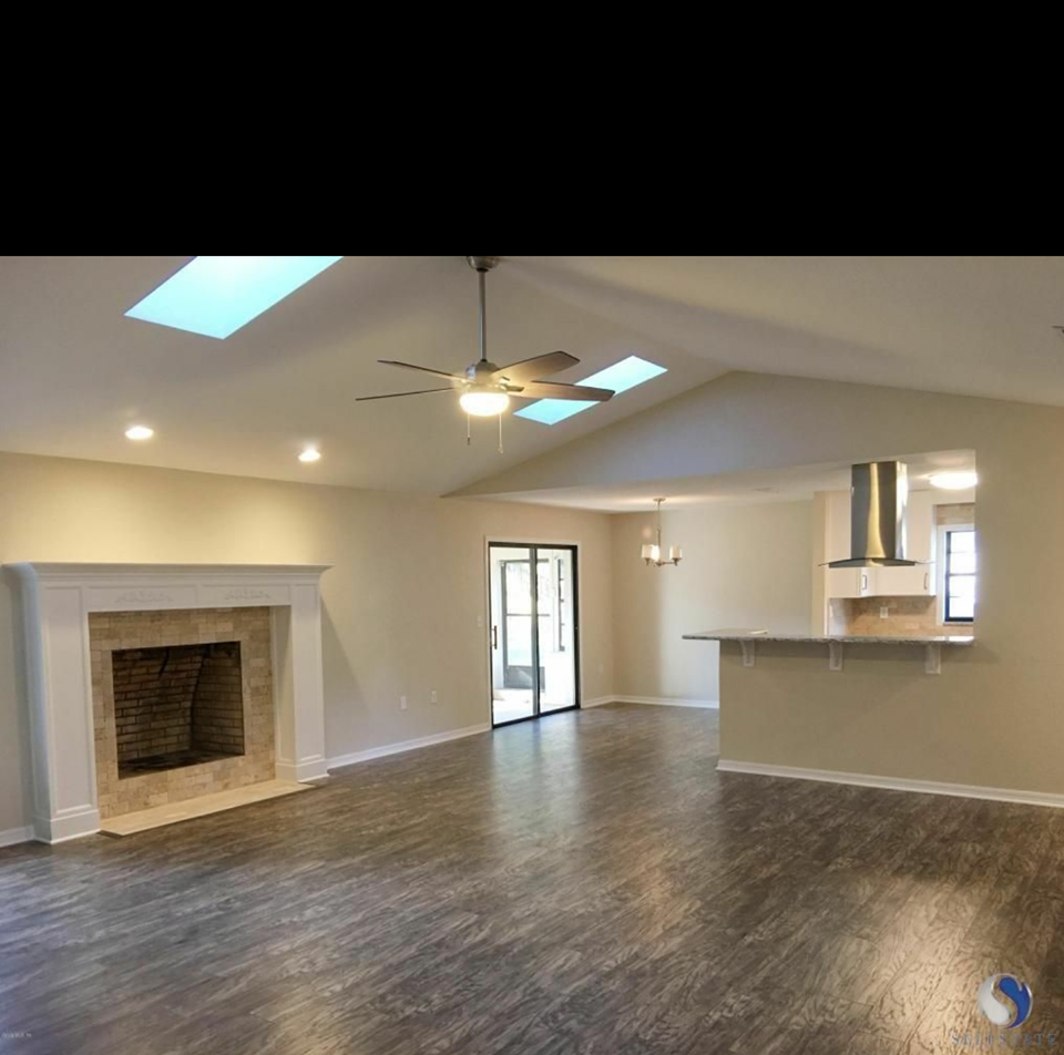 Tammy Vitale Real Estate Investing: Flip 4 living area Before and After