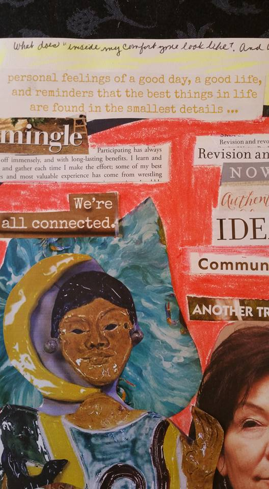 Tammy Vitale, Vision Journal Page - detail