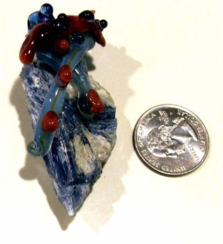 Kyanite and boro focal